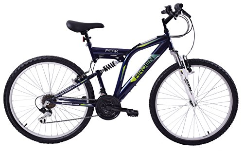 "51ujtslXhrL - Arden Peak 26"" Wheel Dual Full Suspension 21 Speed MTB Bike 16"" Frame"