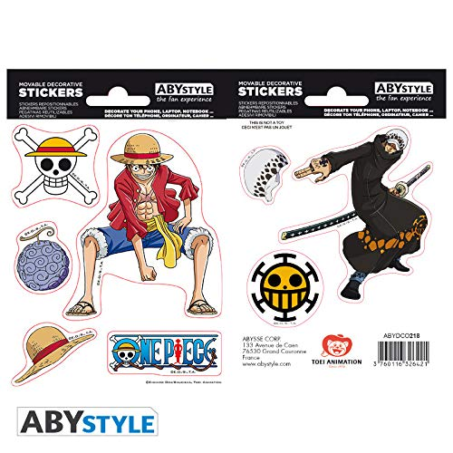 ABYstyle Abysse Corp_ABYDCO445 - Juego de 2 bolígrafos (16 x 11 cm),