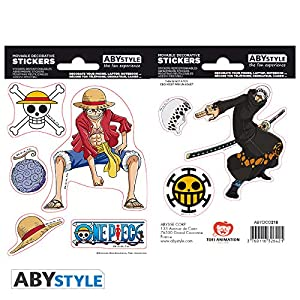 ABYstyle Abysse Corp_ABYDCO445 - Juego de 2 bolígrafos (16 x 11 cm), diseño de Abysse