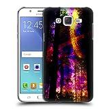 Head Case Designs Offizielle Haroulita Saturn-Blitz Raum Ruckseite Hülle für Samsung Galaxy J5 / J500