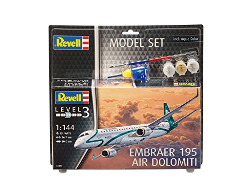 revell-gmbh-64884-embraer-erj-195-model-set