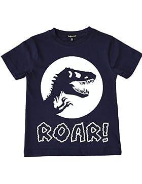 laylawson Dinosaurio Camiseta Chicos Niños Dino T-Shirt Tee Top Edad DE 2 a 12 Años