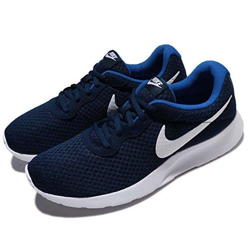 Nike Herren Tanjun Traillaufschuhe, Blau (Midnight Navy Blau/Weiß/Game Royal Blau), 38.5 EU (Herren-schuhe Midnight Navy)