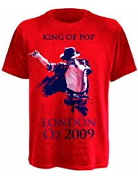 King of Pop Red M