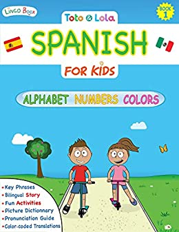 Toto and Lola - Spanish for Kids: Alphabet, Numbers, Colors ...