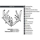 Leatherman CHARGE TTi für Hosentasche 19tools Edelstahl Zange Seitenschneider Multifunktionswerkzeug Multi-Werkzeug (Edelstahl, Titan, Edelstahl, 10cm, 232g, 7,37cm)