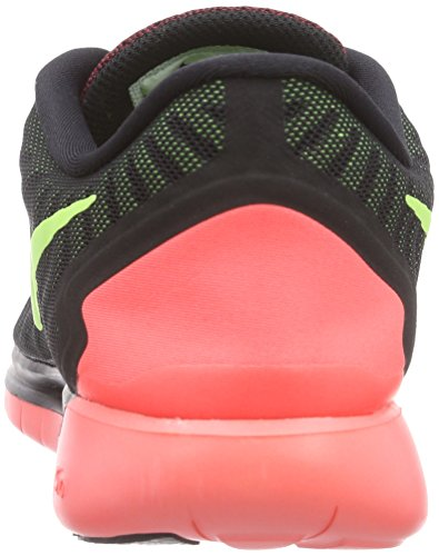 Nike Men's Free 5.0 Black/Volt-Gym Red University Red Running Shoe Size 13 BLACK/VOLT-GYM RED-UNIVERSITY RED