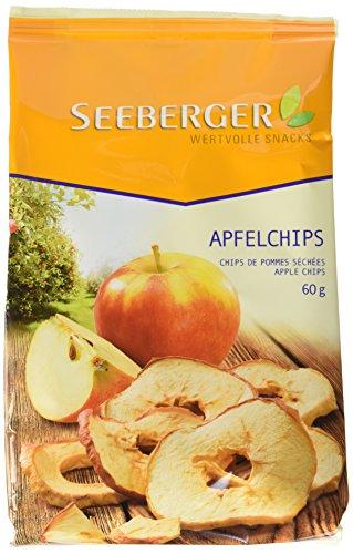Seeberger Apfel-Chips, 6er Pack (6 x 60 g)