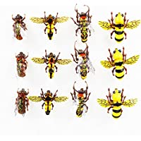 Flyafish Horse Fly Bumble Bee Honey Bee Wasp Dry Flies Fly Fishing Lure