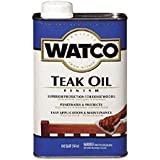 WATCO Teak Oil Finish & One-Step Protection for Exterior Wood Applications