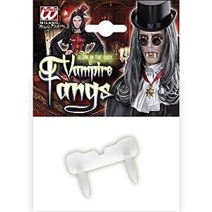 WIDMANN 599386031 - Dientes de Vampiro Fluorescentes