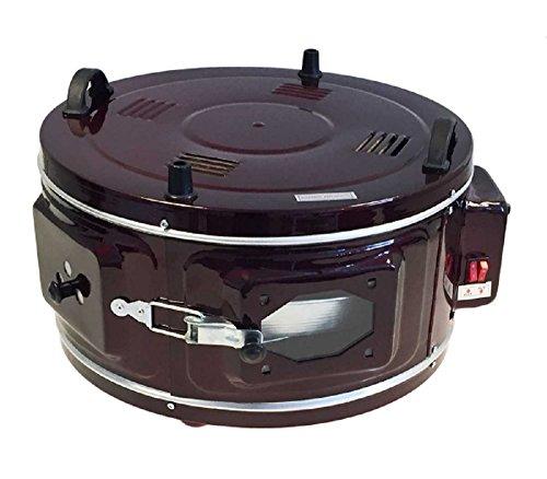 Yildiz eléctrico en horno con termostato xxltuerkischer Máquina pan plano Yufka Kady Saci Pastel Baklava - rojo oscuro, 45cm