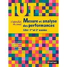 Mesure et analyse des performances : IUT GEA 1re et 2e années