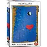 """Eurographics """"Joan Miró bailarina II"""" Puzzle (1000 piezas, Multi-Color)"""