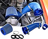 COLD AIR PERFORMANCE KIT MIT SPORT LUFTFILTER SET BLAU