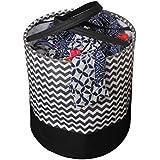PrettyKrafts Canvas Laundry Bag, Toy Storage, Laundry Storage (45 L) - Brown