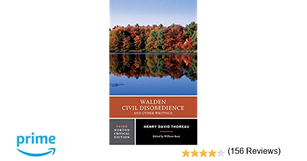 walden civil disobedience and other writings norton critical walden civil disobedience and other writings norton critical editions amazon co uk henry d thoreau william rossi 9780393930900 books