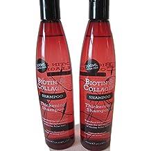 Champú de biotina y colágeno para un cabello más denso, ...