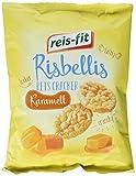 reis-fit Risbellis Reis Cracker Karamell , 4er Pack (4 x 40 g) -