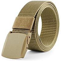 JasGood - Cintura tattica da uomo, in tela di nylon