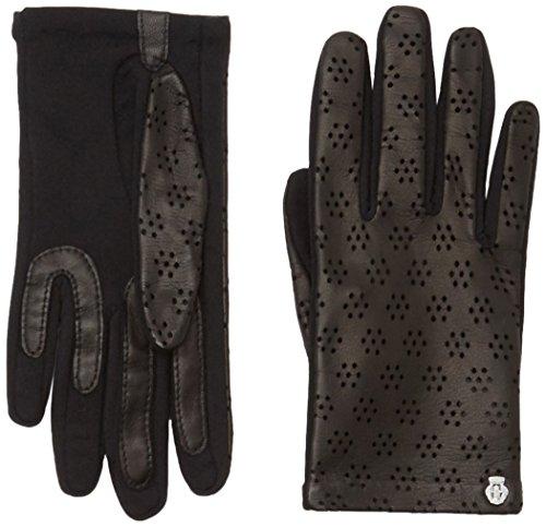 Roeckl Damen Handschuhe Spandex, Einfarbig, Gr. 6.5, Schwarz (black 000)