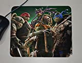 Teenage Mutant Ninja Turtles - TMNT - Novelty Gift - Custom Name Mouse Pad