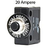 Sicherungsautomat 12 Volt/20 Ampere mit Gummikappe