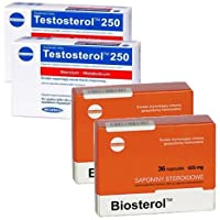 2x TESTOSTEROL 250 + 2x BIOSTEROL COMBO