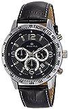 Maxima Chronograph Black Dial Men's Watch-24158LMGI