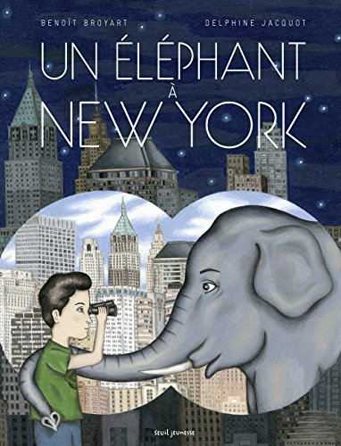 Un éléphant à New-York