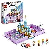 Lego Disney Princess- Frozen Il Libro delle Fiabe di Anna ed Elsa Disney Princess Set di Costruzioni per Liberare la Fantasia, per Bambini 5+ Anni, 43175
