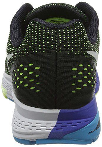 Nike Air Zoom Structure 19, Scarpe da Corsa Uomo, 9 EU Nero (Black/Pure Platinum/Volt/Blue Lagoon)