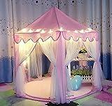 Tienda-de-Campaa-Princesa-para-NiosUniqueVC-Casas-y-Tiendas-para-Nia-con-se-Proporcionaron-las-luces-pequeo-LED-en-Interior-y-Exterior-Bolas-y-Manta-no-Incluidas