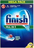 Finish All In One Lemon Sparkle 78 Dishwasher Tablets