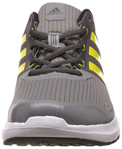 adidas Duramo 7 Herren Laufschuhe Grau (Ch Solid Grey/Bright Yellow/Dgh Solid Grey)