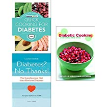 Quick cooking for diabetes, scandinavian diet diabetes no thanks and diabetic cooking 3 books collection set