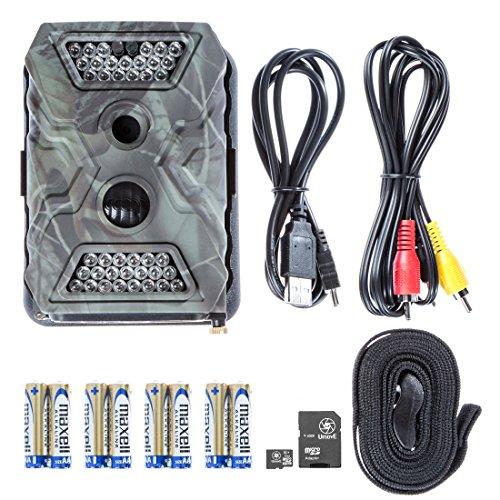 Ultrasport UmovE Secure Guard Pro Caméra de surveillance/caméra sauvage avec flash IR et détecteur de mouvement