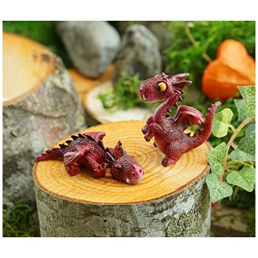 Figurines Patio, Lawn & Garden Red Top Collection Miniature Fairy ...