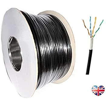 exterior grade cat5 ethernet cable. 100m cat5e utp external solid copper lined network cable outdoor reel black cat 5e exterior grade cat5 ethernet
