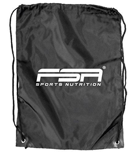 utel/Sportbeutel / Gym-Bag/Gym-Sack | Schwarz | von der Deutschen Profisport Marke (schwarz) ()