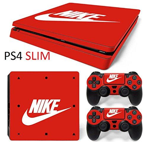 Preisvergleich Produktbild Sony PS4 Playstation 4 Skin NIKE Design Foils Aufkleber Schutzfolie Set