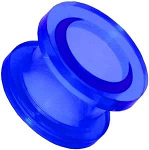 1 Pezzo Flesh Estensore Tunnel Plug Tappo Orecchio Acrilico 2 3 4 5 6 8 10 12 mm Allungamento Dilatatore