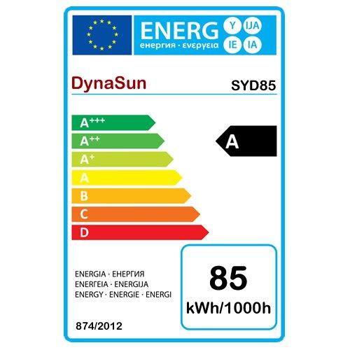 DynaSun W985K Kit Professionale con Cavalletto Stativo Portalampada e Ombrello Diffusore Lampada DayLight SYD85 per Studio Foto Video, 400Ws, Nero