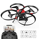 DROCON Traveler / U818A Plus FPV Drone with Altitude Hold Mode - 120 Degree Wide Angle 720P HD Camera with Optical Anti-Shake Function - 15 Minutes Long Flying Time RC Quadcopter