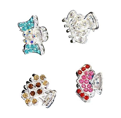 hcsm06-elegante-bello-argento-lucido-tono-clip-piccolo-capelli-del-metallo-assemblaggi-confezione-da