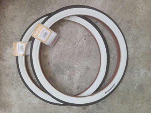 2x CST Weißwand Reifen 20 Zoll 20 x 1.75 | 47-406 (schwarz/weiß)