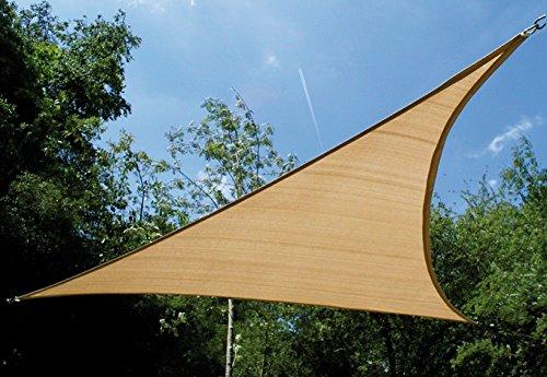 Garbric - Toldo vela triangular 3.6x3.6x3.6 arena