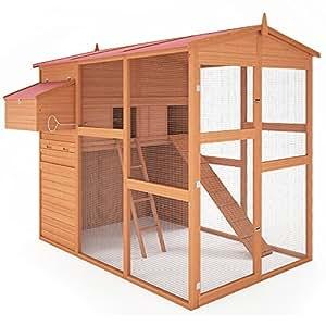 Hühnerstall Hühnerhaus Brutkasten Stall Kleintierstall Hasenstall Käfig Kickie