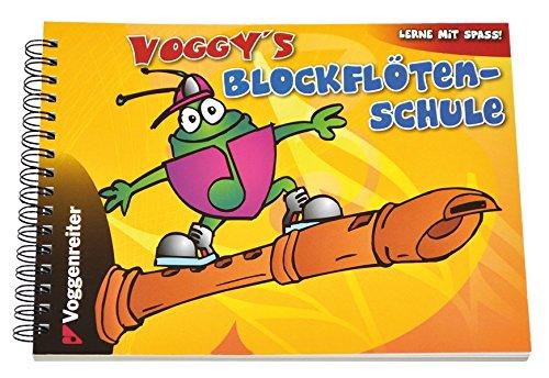 Voggy's Blockflötenschule - Flöte Anfänger-musik-bücher Für