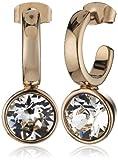 Dyrberg/Kern Damen-Creolen Vergoldetes Metall Kristall 335438